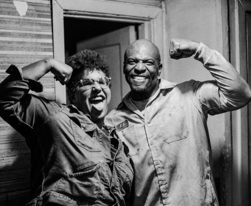 Brittany Howard and Terry Crews