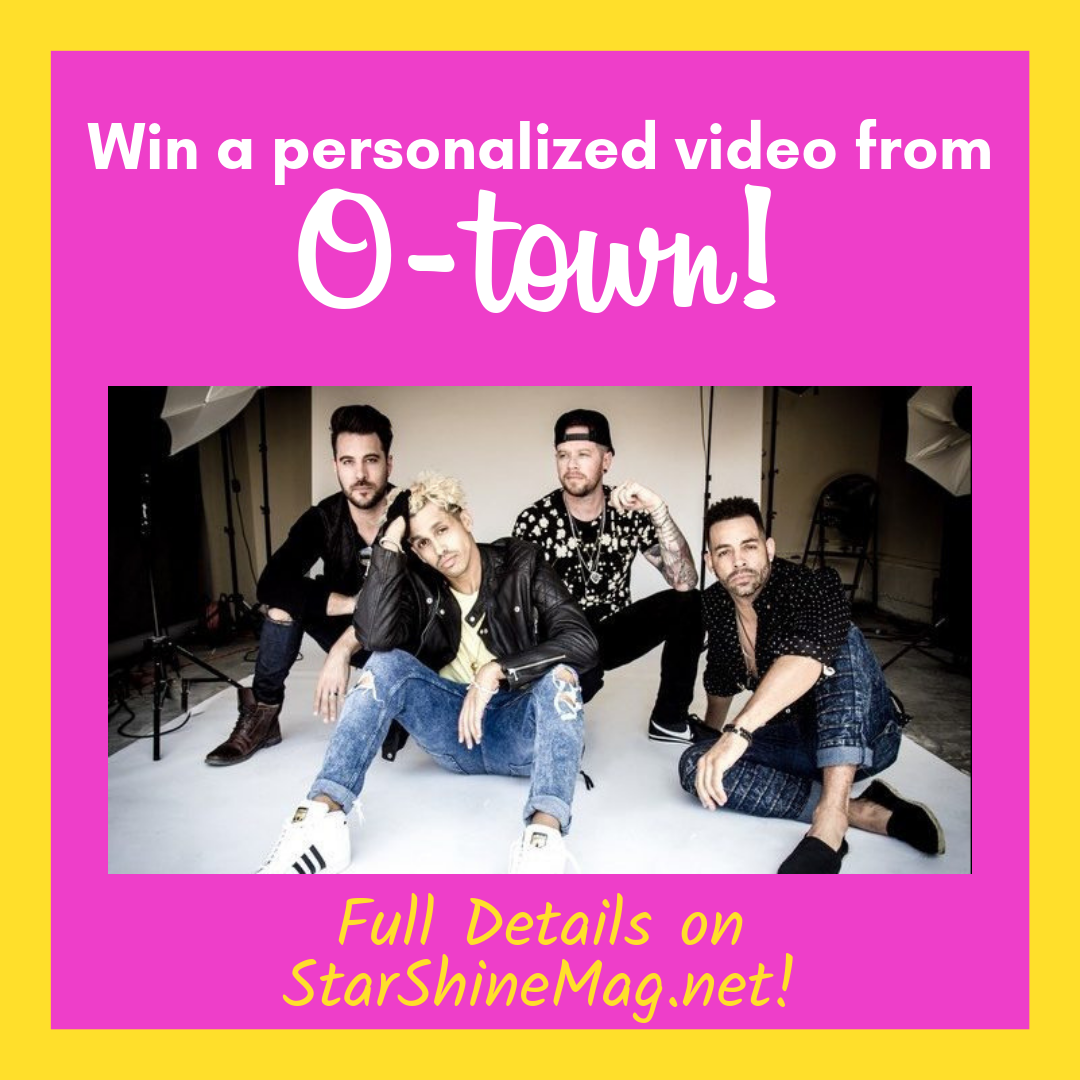 Win a Personalized Video from O-Town!