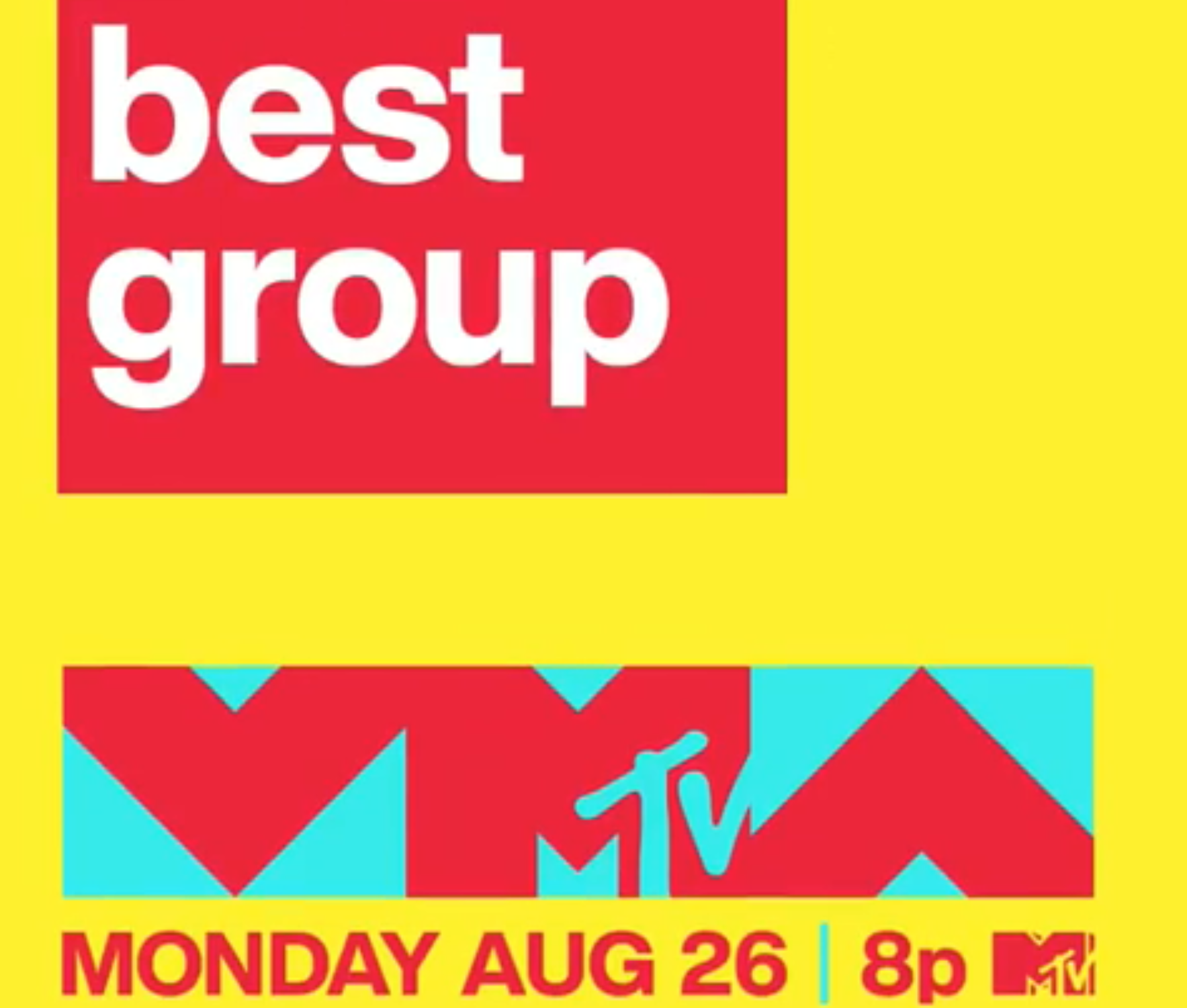 Vote Best Group and Other 2019 VMA Categories on MTV's Instagram Stories!