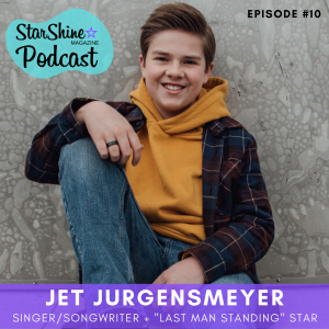 "Podcast: Jet Jurgensmeyer – Teen Singer + ""Last Man Standing"" Star"