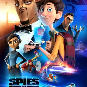"Will Smith and Tom Holland Star in ""Spies In Disguise"" In Theatres 12/25!"