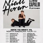 Niall Horan Tour Tickets On Sale 11/8 with Guests Lewis Capaldi + Fletcher