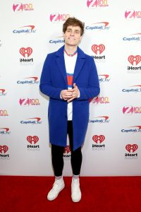 NEW YORK, NEW YORK - DECEMBER 13: Spencer Sutherland arrives at iHeartRadio's Z100 Jingle Ball 2019 at Madison Square Garden on December 13, 2019 in New York City. (Photo by Monica Schipper/Getty Images)