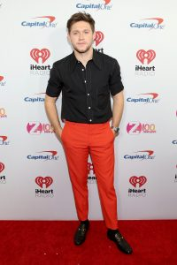 NEW YORK, NEW YORK - DECEMBER 13: Niall Horan arrives at iHeartRadio's Z100 Jingle Ball 2019 Presented By Capital One on December 13, 2019 in New York City. (Photo by Monica Schipper/Getty Images)