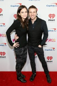 NEW YORK, NEW YORK - DECEMBER 13: Arianna Mast and Phill Kross  arrives at iHeartRadio's Z100 Jingle Ball 2019 Presented By Capital One on December 13, 2019 in New York City. (Photo by Monica Schipper/Getty Images)