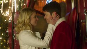 "Damian McGinty + Heather Morris Star in ""Santa Fake"""
