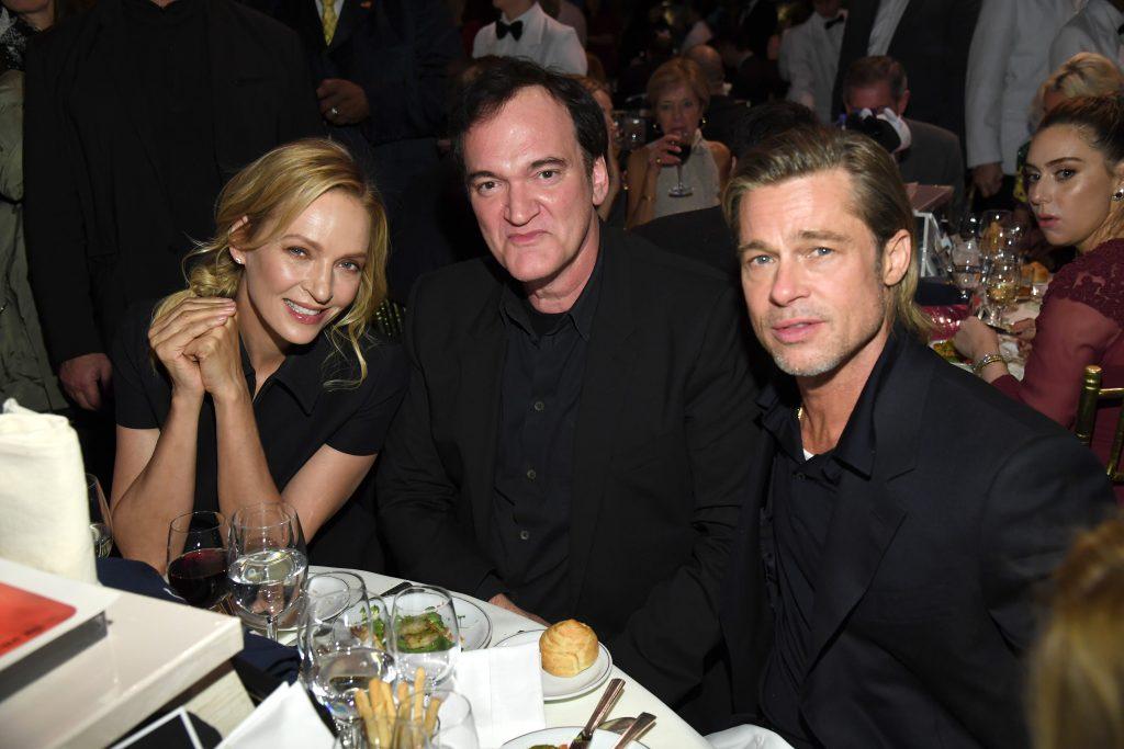 Uma Thurman Quentin Tarantino Brad Pitt 2020