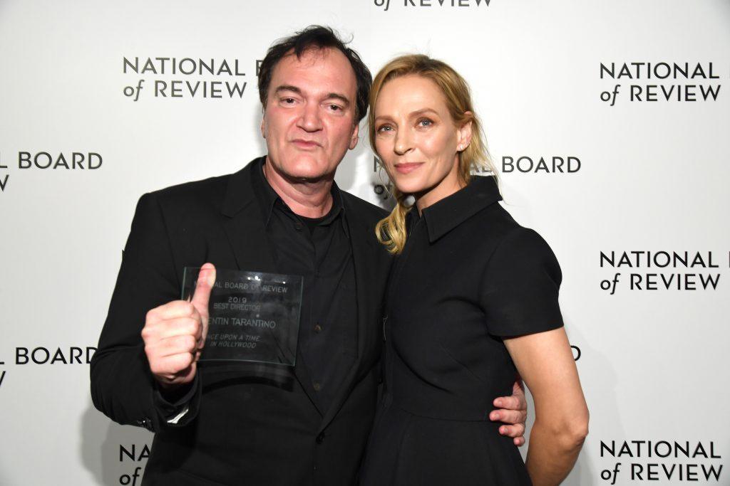 Quentin Tarantino Uma Thurman 2020