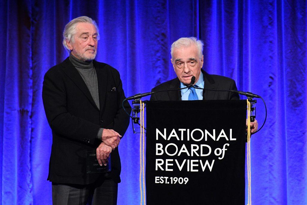 Robert DeNiro Martin Scorsese 2020