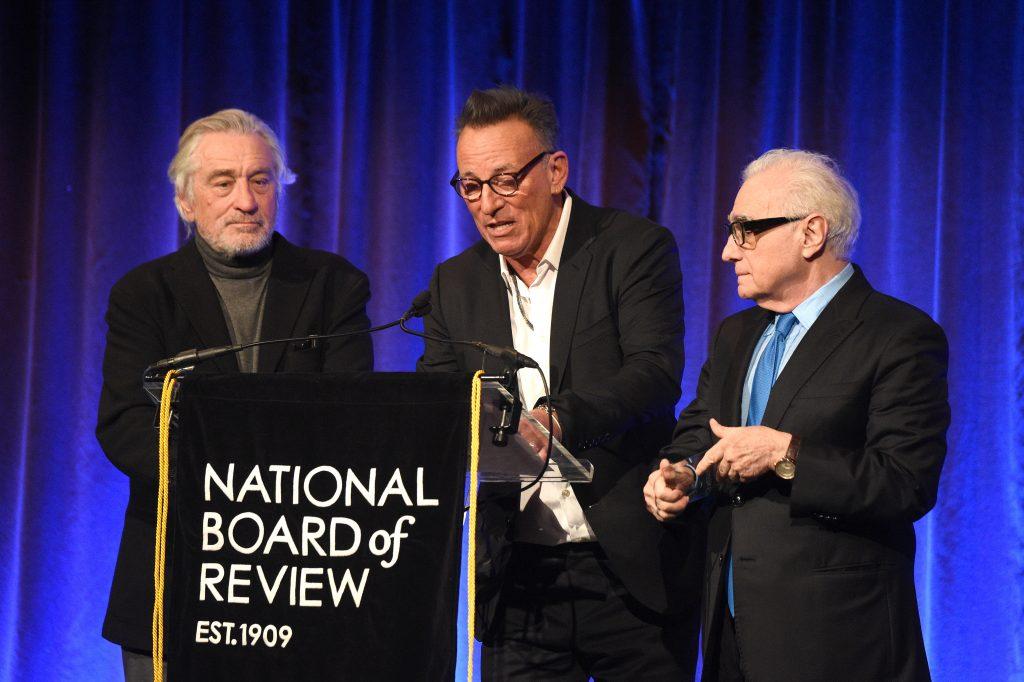 Robert DeNiro Bruce Springstein Martin Scorsese 2020