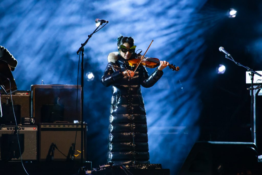 Amanda Shires (400 Unit/Highwomen) at Music City Midnight 2019-2020. Photo by Kindell Buchanan / StarShine Magazine