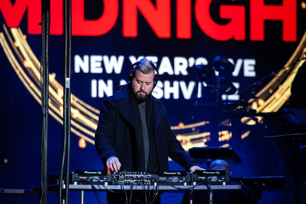 DJ Audé at Music City Midnight 2019-2020. Photo by Kindell Buchanan / StarShine Magazine