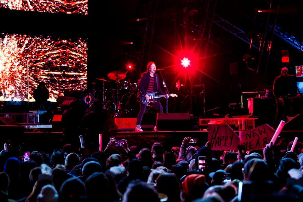 Keith Urban at Music City Midnight 2019-2020. Photo by Kindell Buchanan / StarShine Magazine
