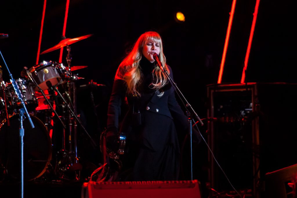 Stevie Nicks at Music City Midnight 2019-2020. Photo by Kindell Buchanan / StarShine Magazine