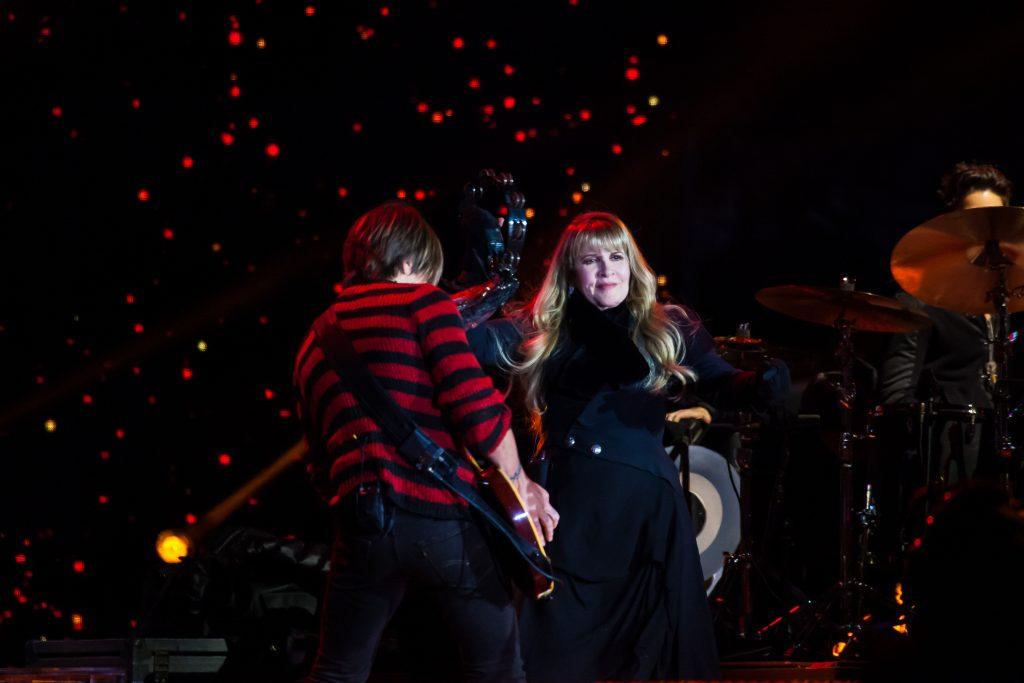 Stevie Nicks and Keith Urban. Music City Midnight 2019-2020. Photo by Kindell Buchanan / StarShine Magazine