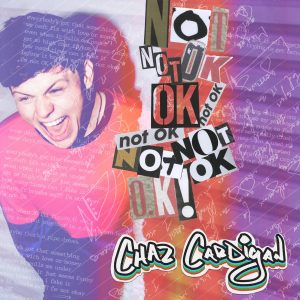 Not OK Single Artwork - Chaz Cardigan