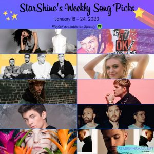 Weekly Song Picks: Chaz Cardigan, Twin Atlantic, Asher Angel + more