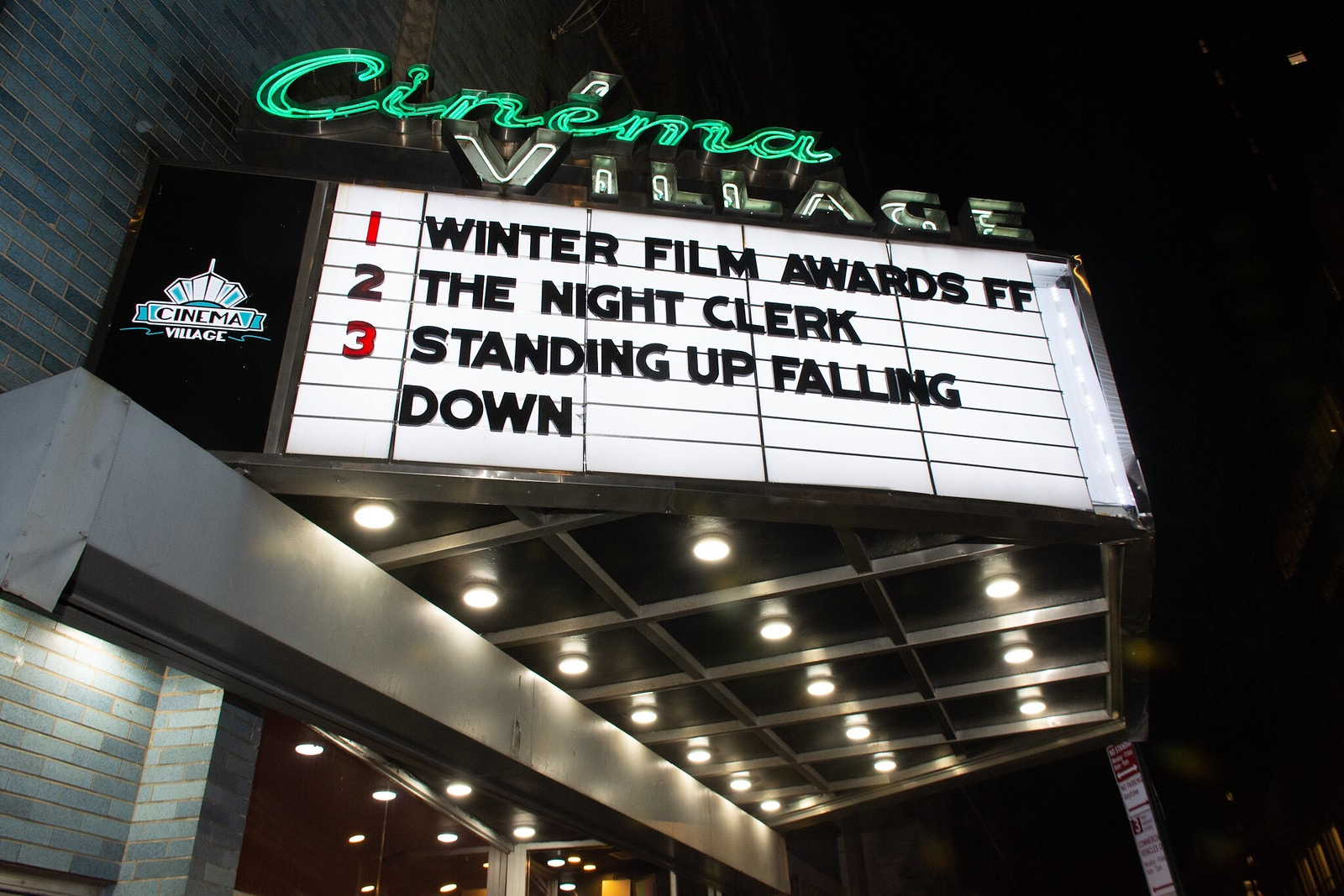 Another Successful Year at the NYC Winter Film Awards