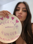 Drew Barrymore, Kim Kardashian West, Jerry Harris Come Together for Hunger Relief