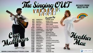 """WATCH: Crys Matthews + Heather Mae Perform """"Six Feet Apart"""" + Catch The Virtual Singing OUT Tour"""