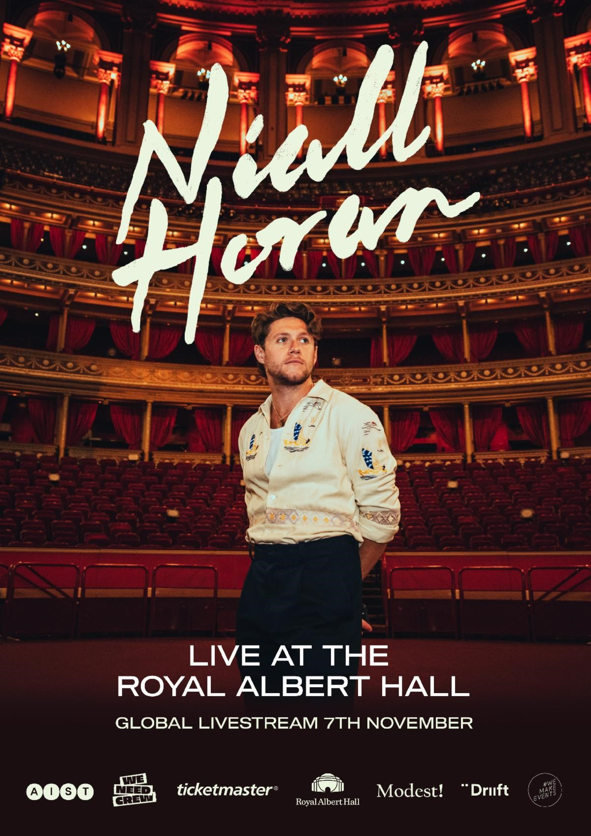 Niall Horan Announces Livestream Concert to Raise Money for #WeNeedCrew Relief Fund