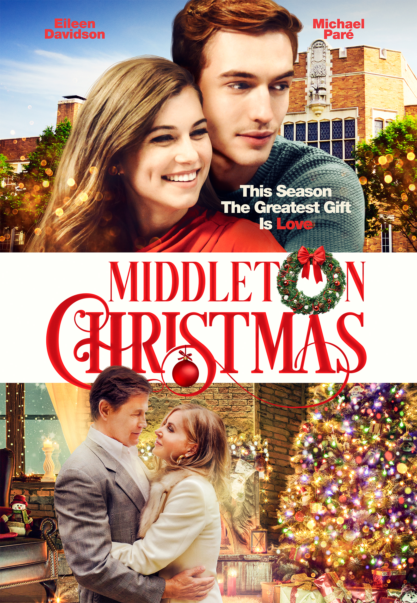 'Middleton Christmas' Starring Eileen Davidson, Michael Paré, Trevor Stines, and Kennedy Tucker
