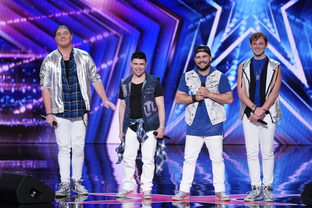 """Boy Band Tribute Larger Than Life Performs on """"America's Got Talent"""""""