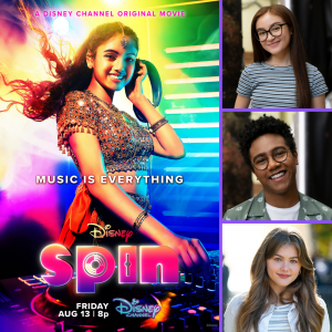 """Anna Cathcart, Kerri Medders + Jahbril Cook Discuss Disney's """"Spin""""!"""