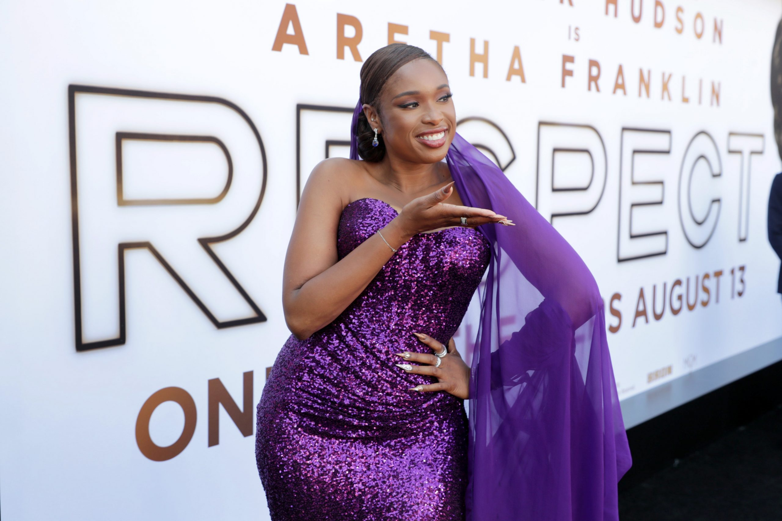 'Respect' Starring Jennifer Hudson as Aretha Franklin Now in Theaters! View Clips + Pics!